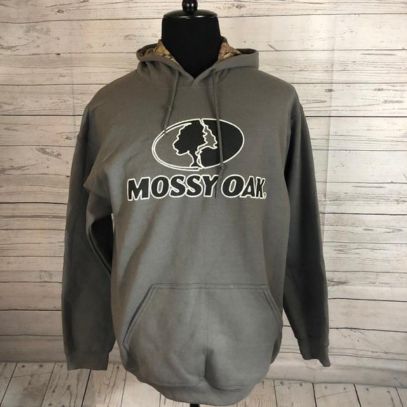887b4d8a4d06f Camo Shirts | Mossy Oak Black Hoodie Lining Mens Xxl Nwot | Poshmark